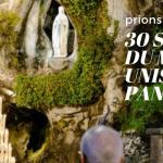 """30 sanctuaires du monde entier s'unissent dans un """"marathon de prière"""""""